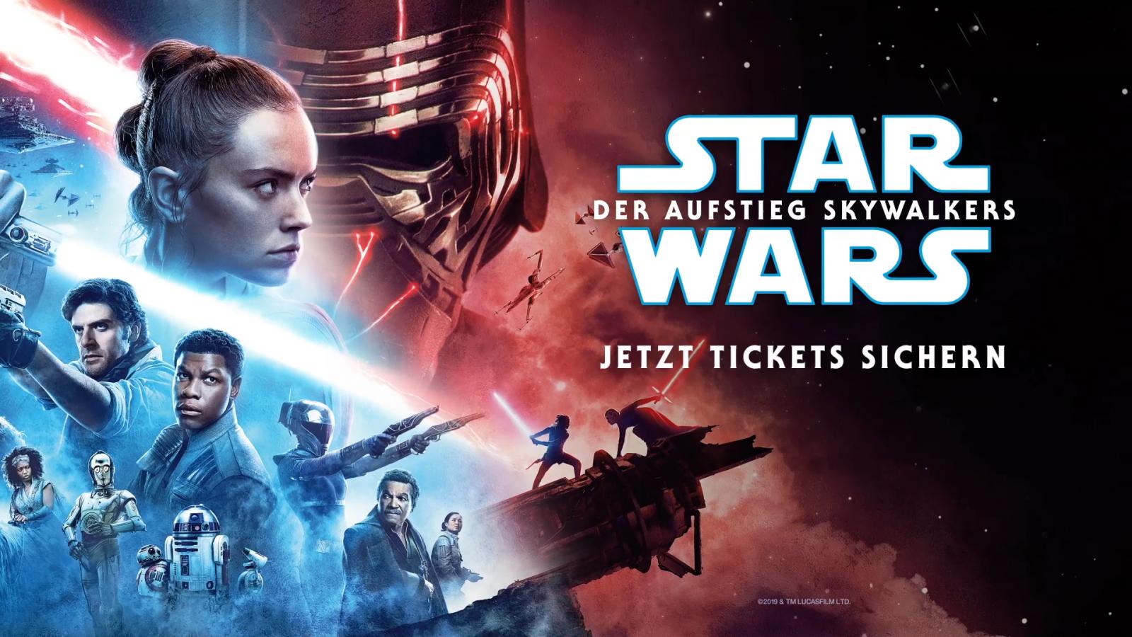 Star Wars: Der Aufstieg Skywalkers - Der Vorverkauf läuft!