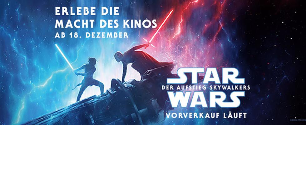 Star Wars: Der Aufstieg Skywalkers - Der Vorverkauf hat begonnen!