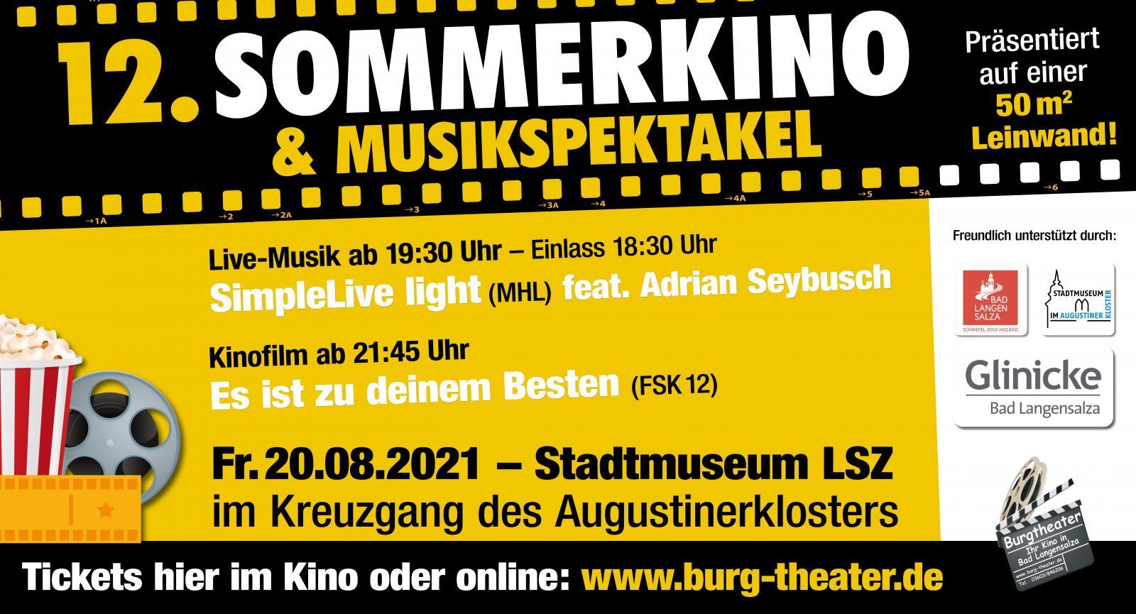 12. Sommerkino & Musikspektakel