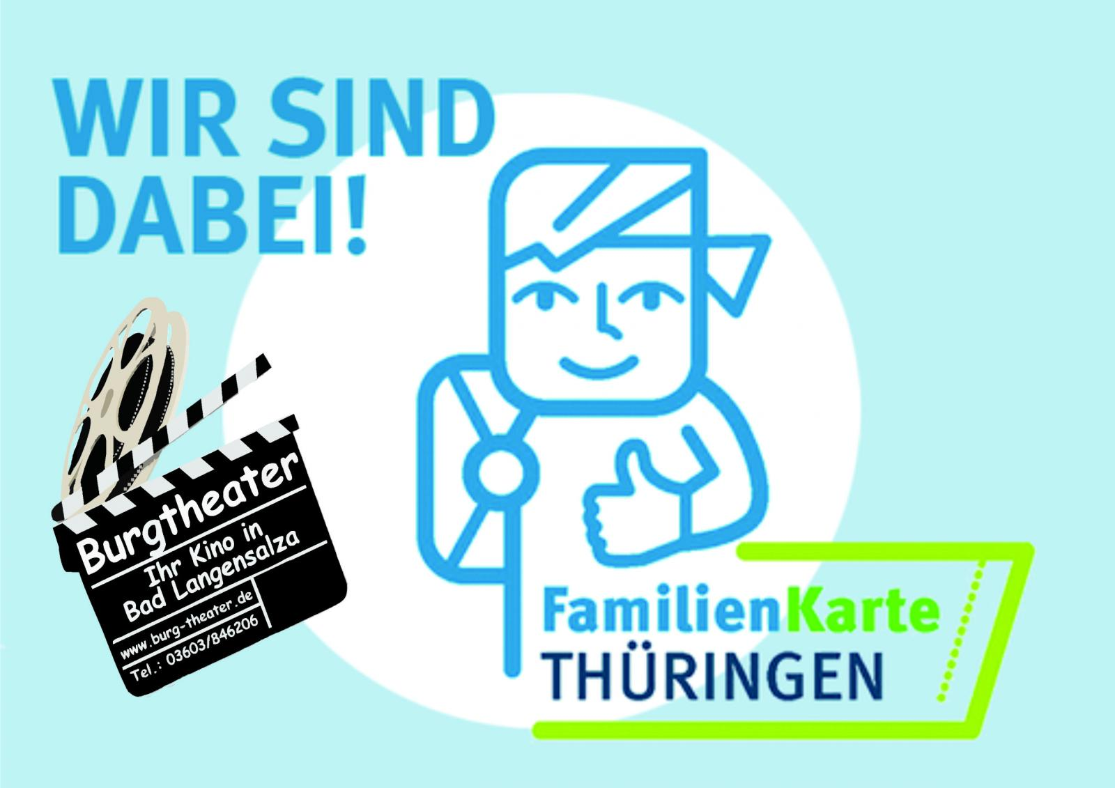 Kostenlos ins Kino mit den Gutscheinen der Thüringer Familienkarte!