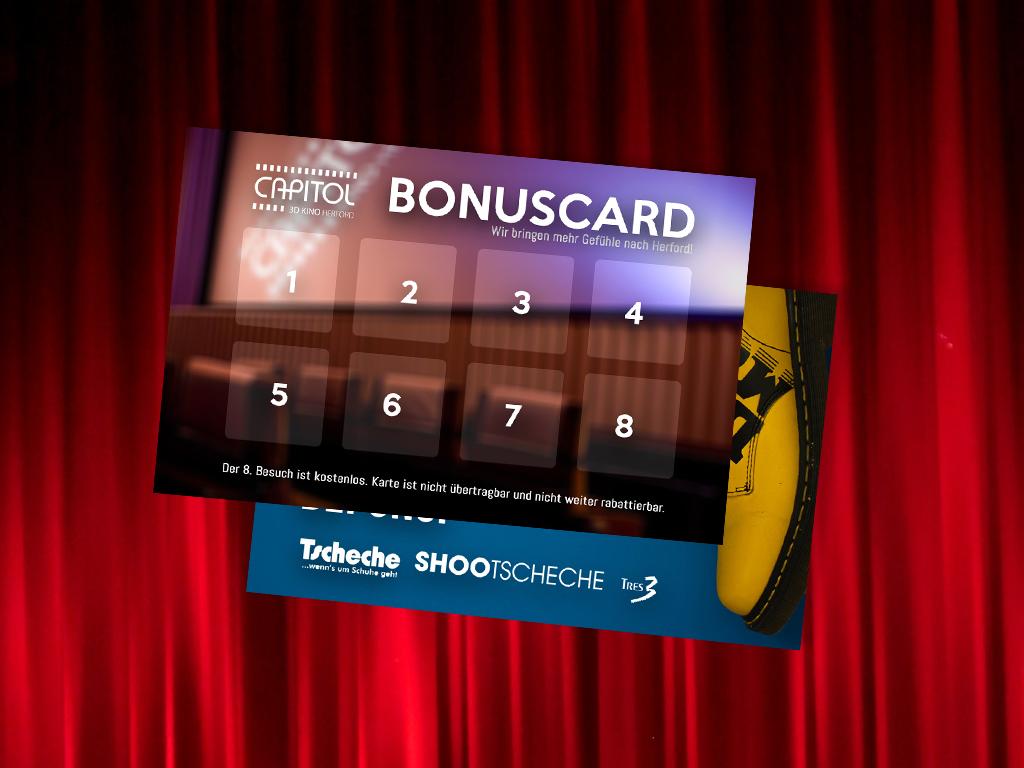 Die Capitol Kino Bonuskarte