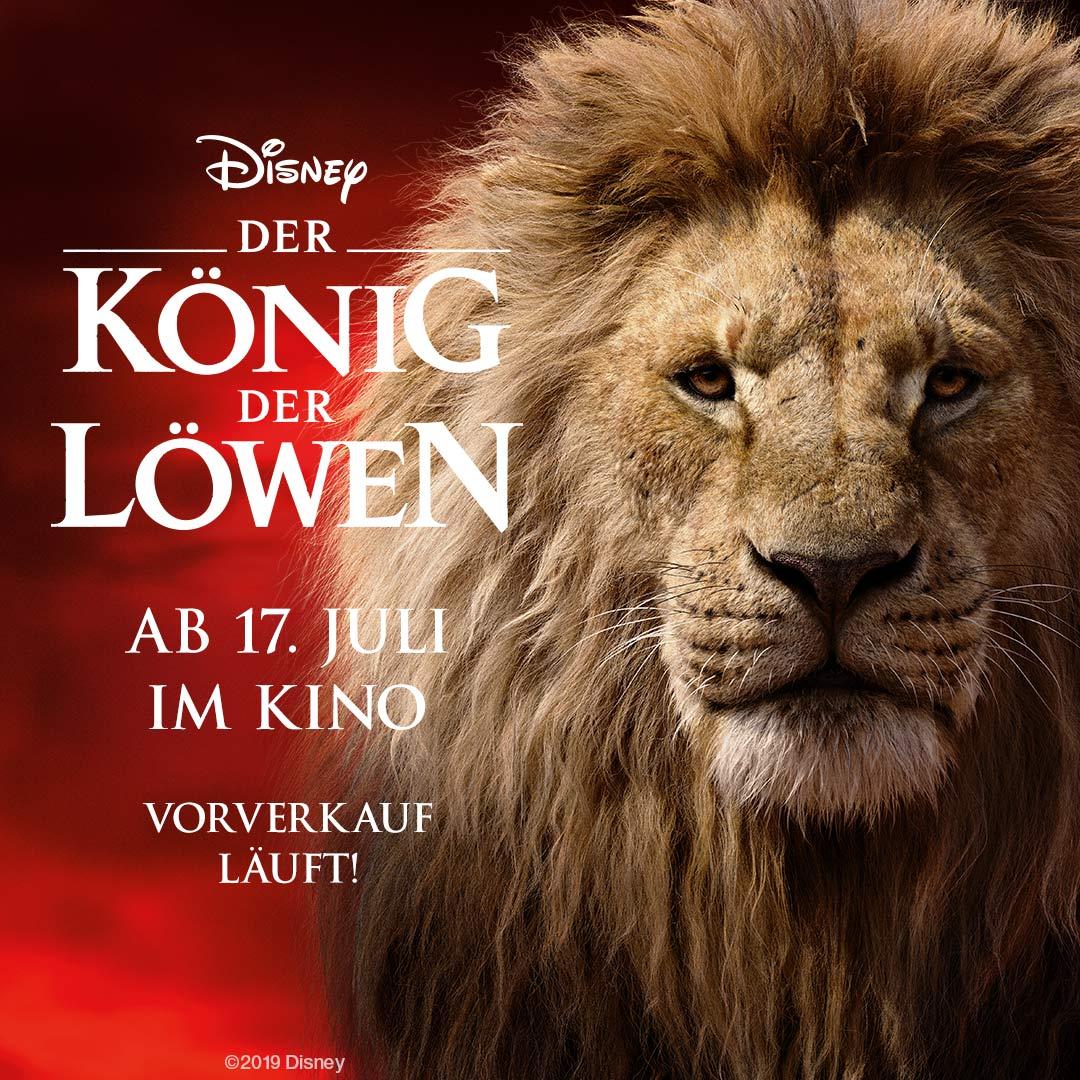 Der König der Löwen Vorverkauf!