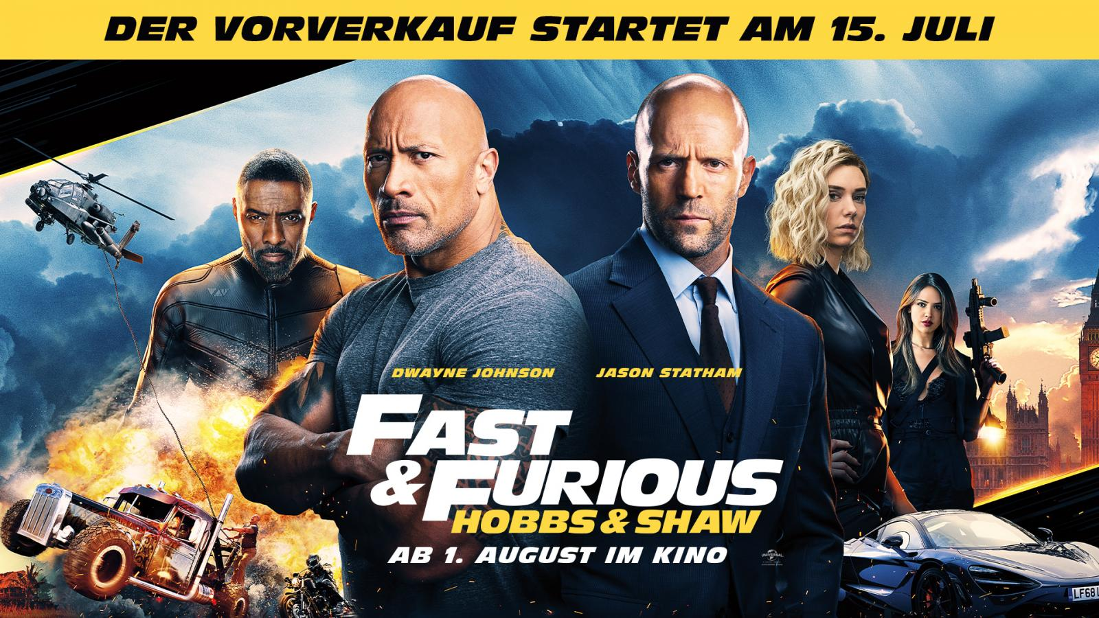 VVK Fast and Forious: Hobbs & Shaw