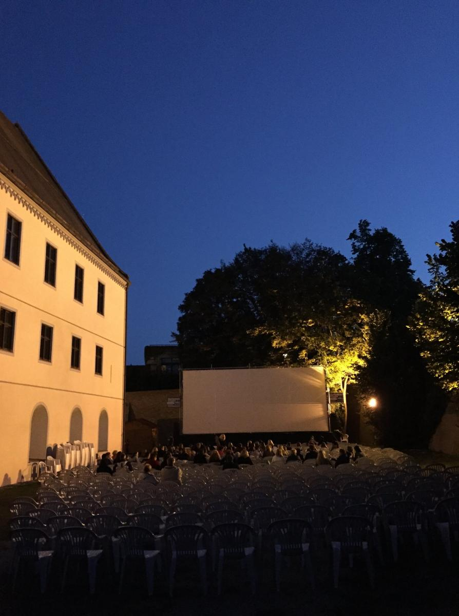 7.Kino Open Air im Schlossgarten in Wertingen