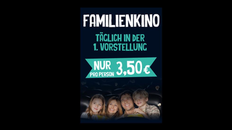 Familienkino für 3,50€
