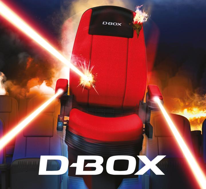 Filme auf unseren D-Box Motion Seats