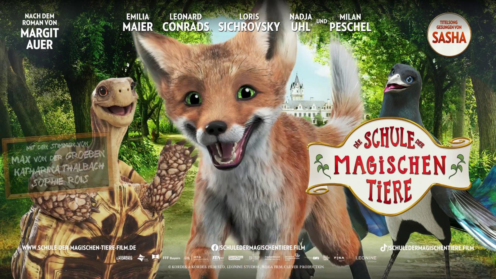 Die Schule der magischen Tiere - ab 28. Oktober bei uns im Kino!
