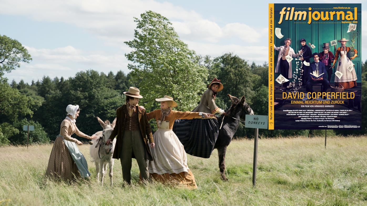 September-Filmjournal / Corona-bedingt Ticketkauf nur online!