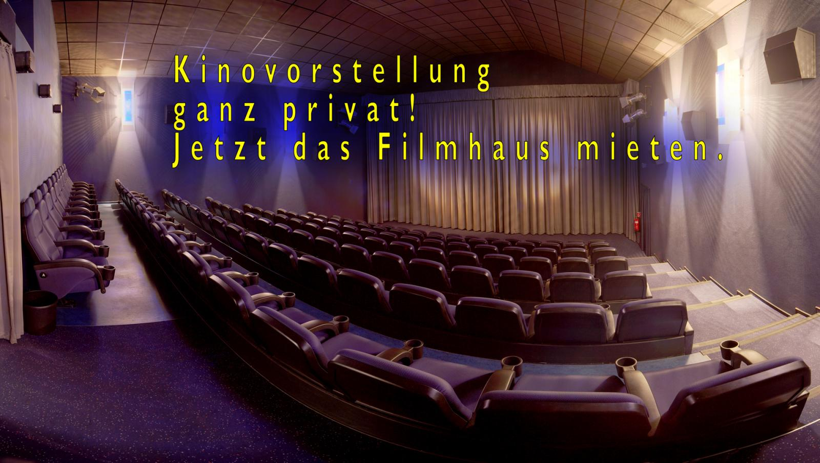 Kino für Privatvorstellungen mieten