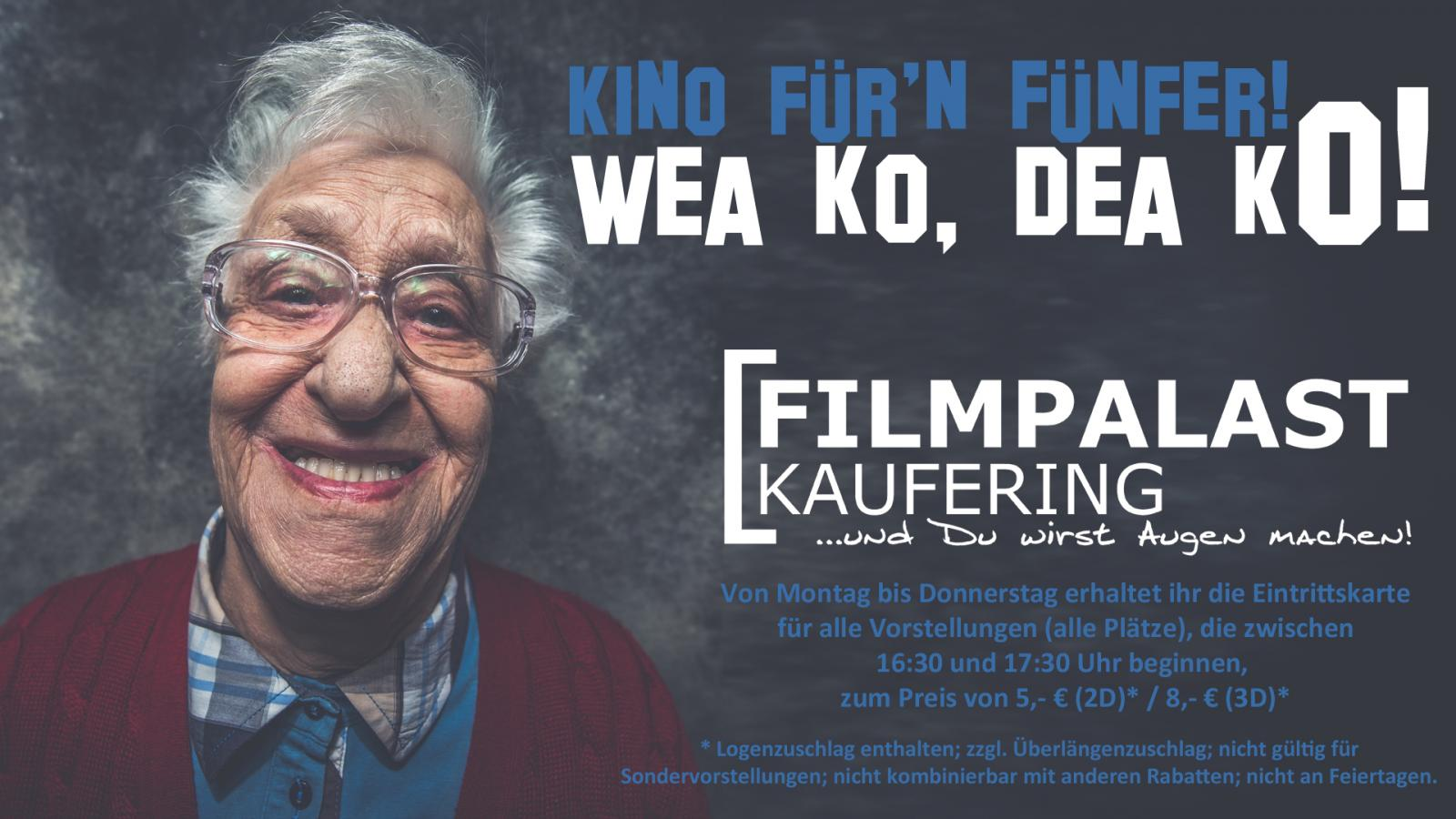 Kino für'n Fünfer!
