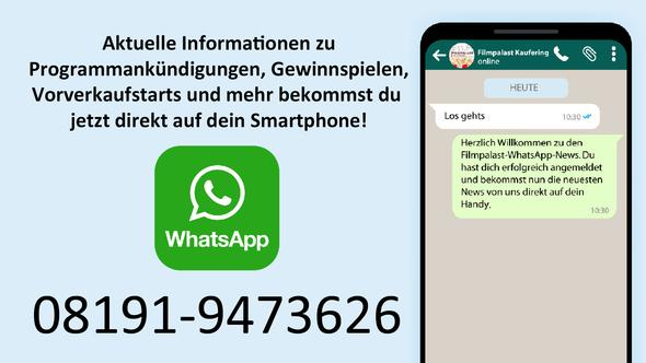 WhatsApp an 08191-9473626