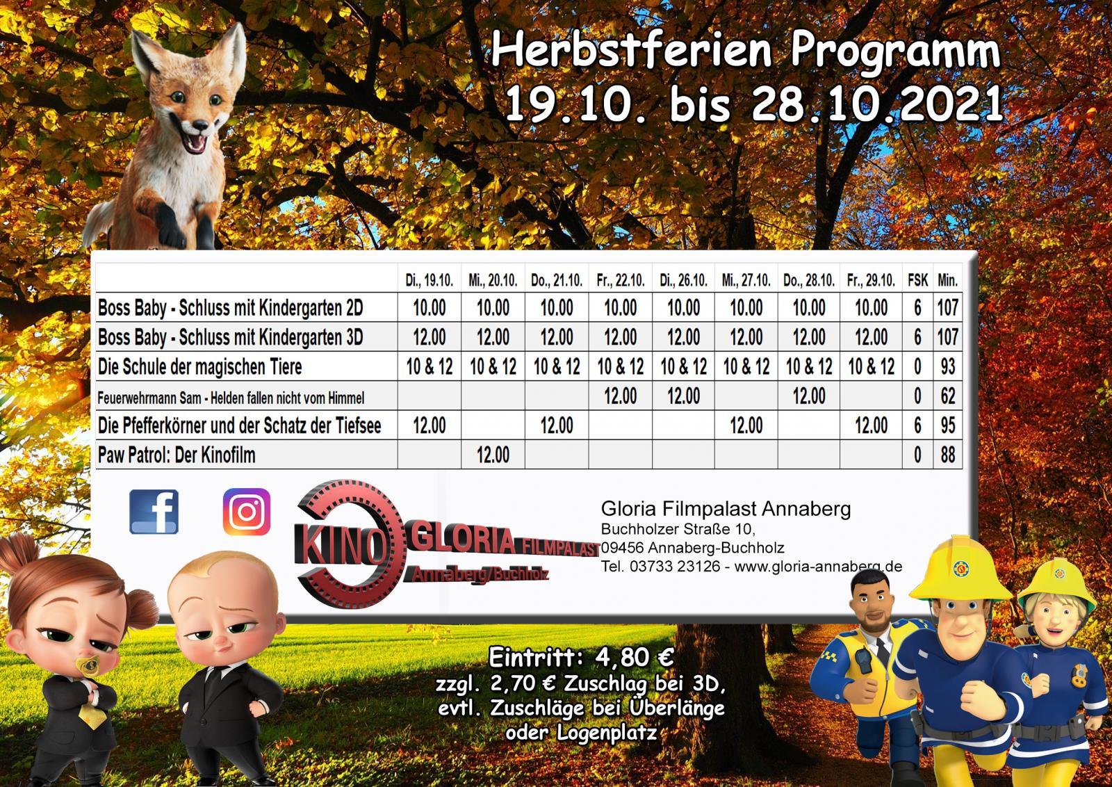 Herbstferienprogramm