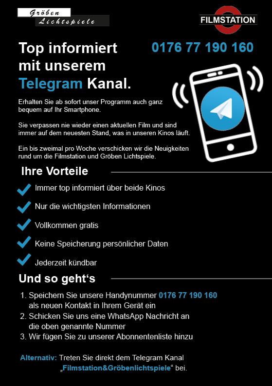 TOP informiert mit unserem TELEGRAM KANAL