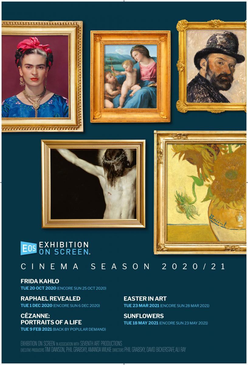 RAPHAEL - Exhibition on Screen - Verschoben