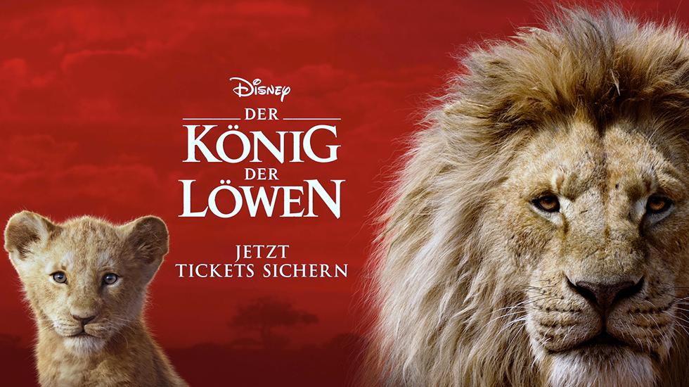 Der König der Löwen ab 17. Juli im Kino!