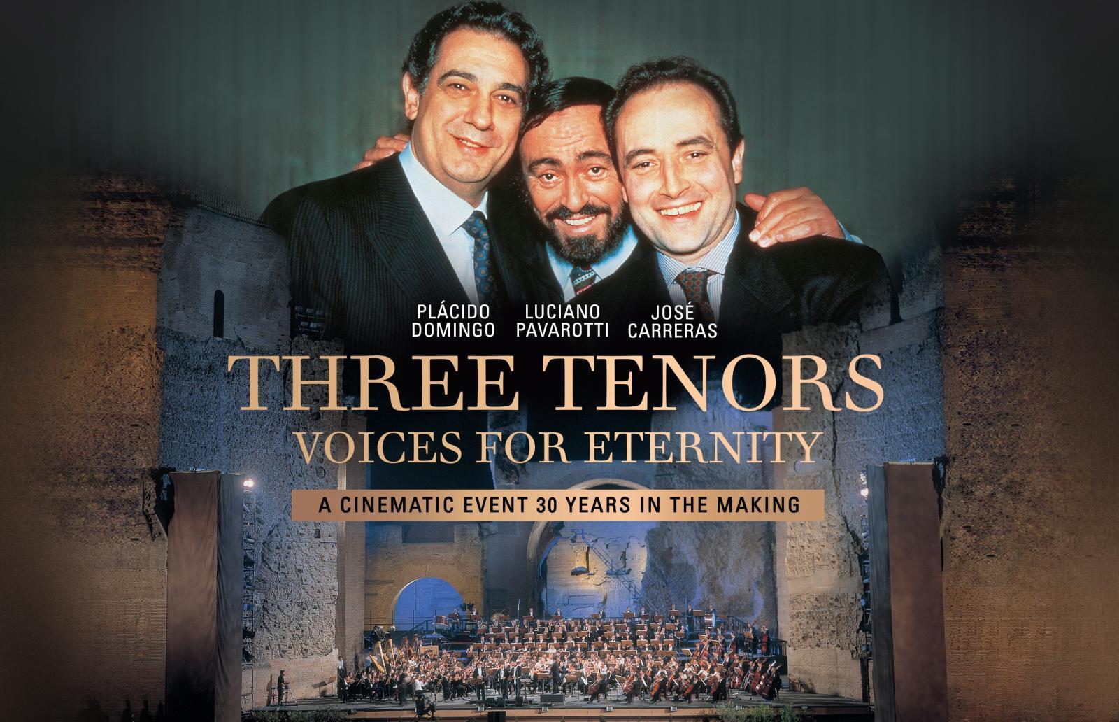 Drei Tenöre - Stimmen für die Ewigkeit