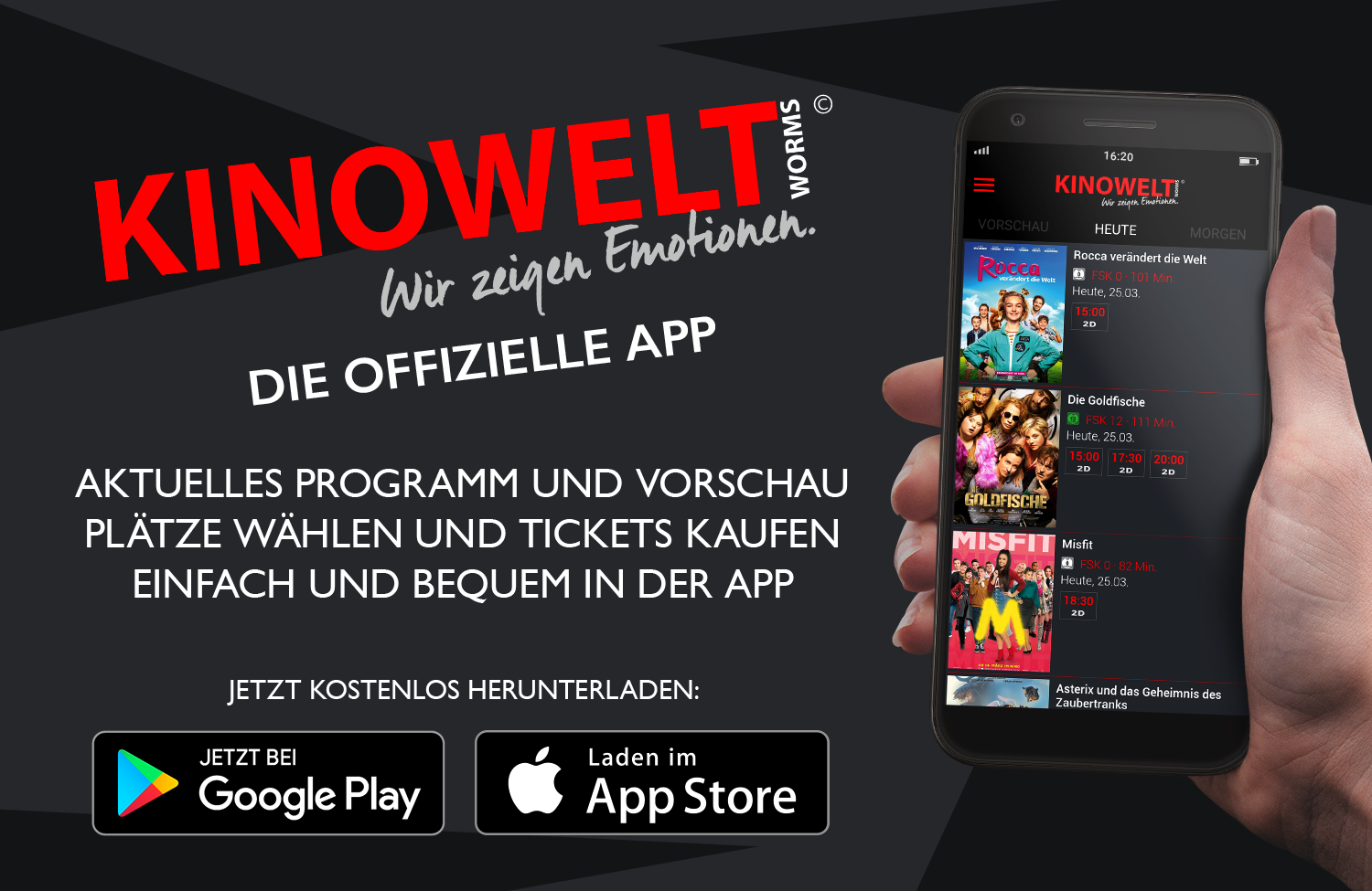 Kino Worms Programm