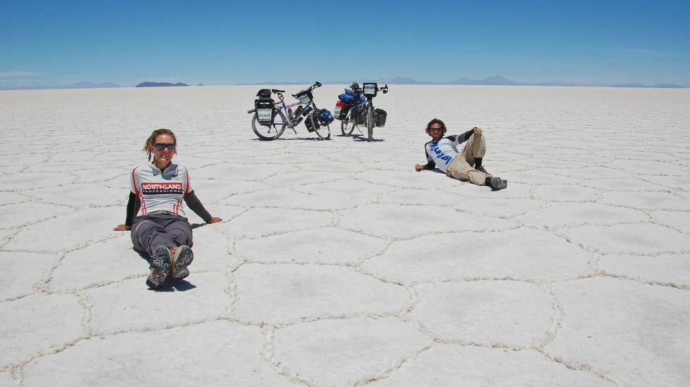2-Rad-Abenteuer, 87000 km um die Welt!