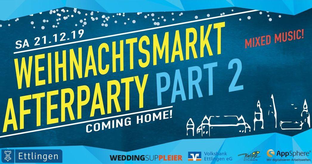 Weihnachtsmarkt After Party 2019