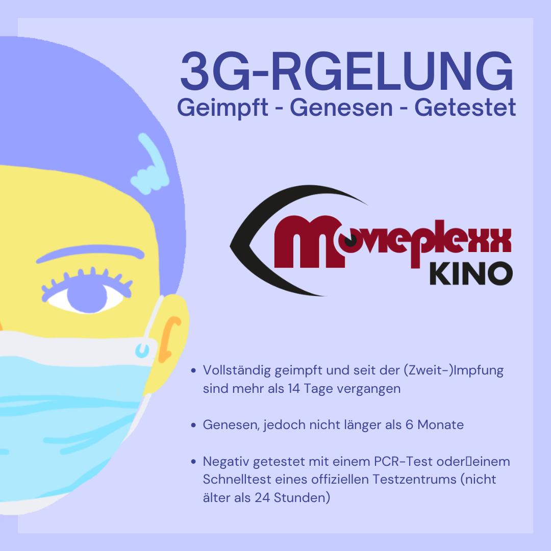 3G-Reglung im Kino