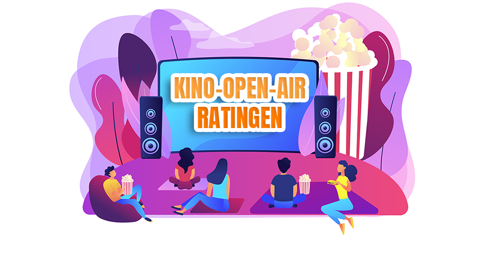 Open-Air-Kino Ratingen von 14. bis 16. August
