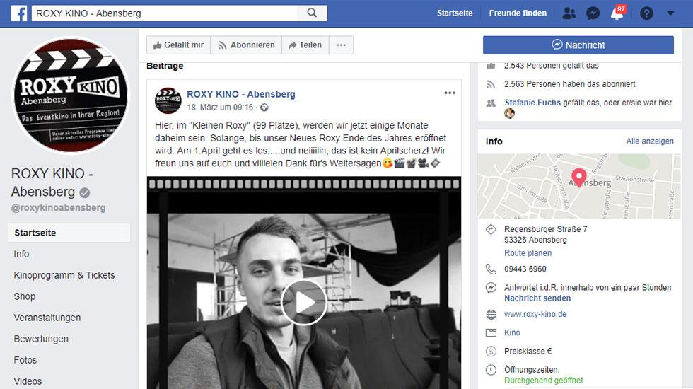 Aktuelle News findet ihr auf unserer Facebook-Seite!