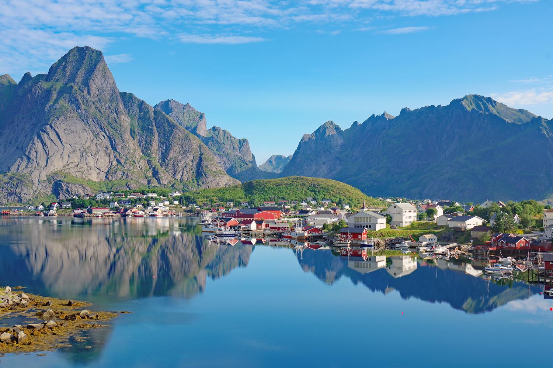 Norwegen und Schweden im Wandel der Jahreszeiten
