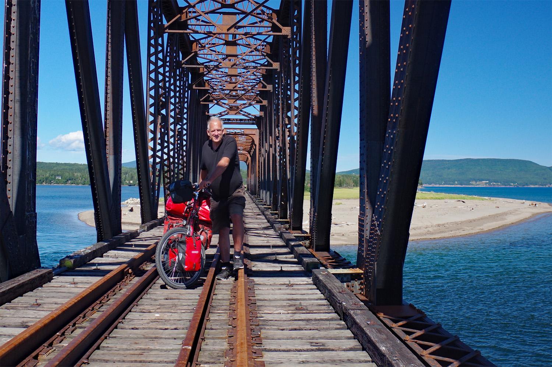 Per Fahrrad 6.000 km von Vancouver nach Halifax