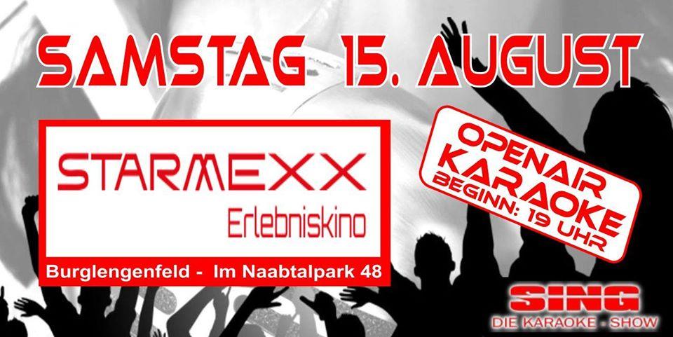 OpenAir- Karaoke im Starmexx Biergarten
