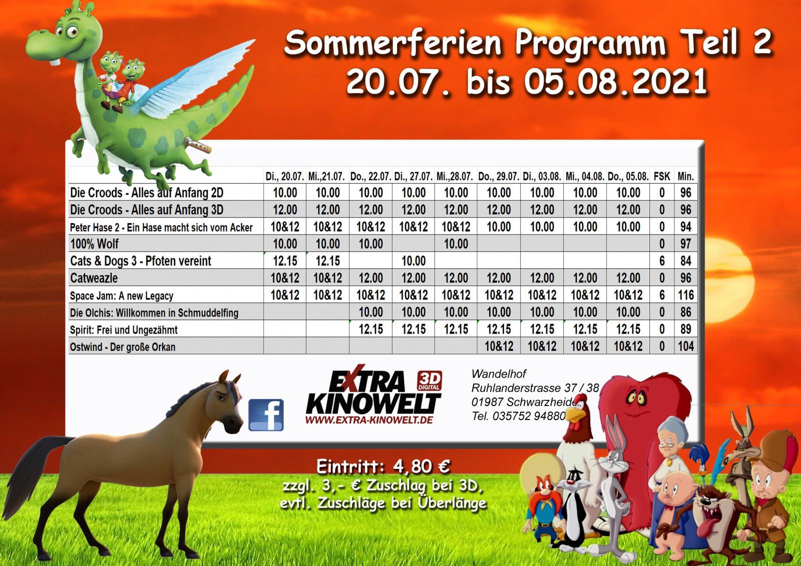 Sommerferienprogramm
