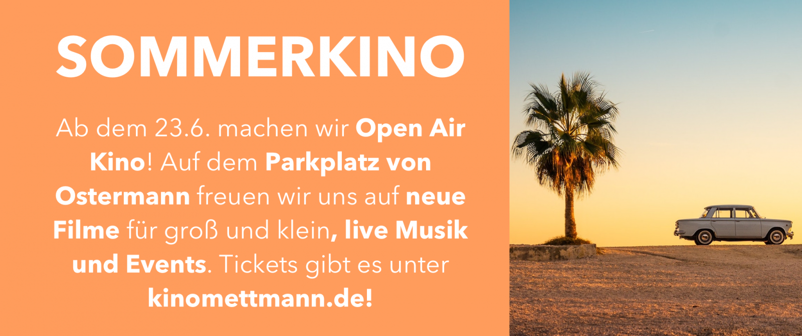 Sommerkino Tickets und Programm