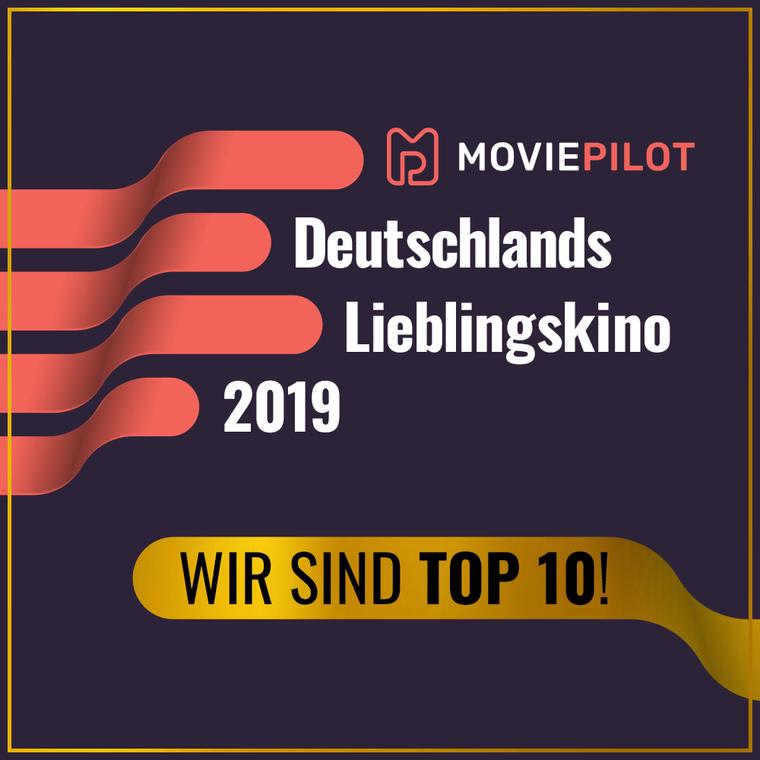 TOP 10 Deutschlands Lieblingskino 2019