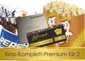 Produktbild zu: Kinokomplettpaket PREMIUM für zwei Personen mit Filmdose