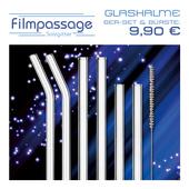 Produktbild zu: Glastrinkhalm 6er-Set