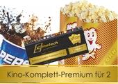 Produktbild zu: Kinokomplettpaket PREMIUM für zwei Personen