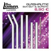 Produktbild zu: Glashalm-6er-Set